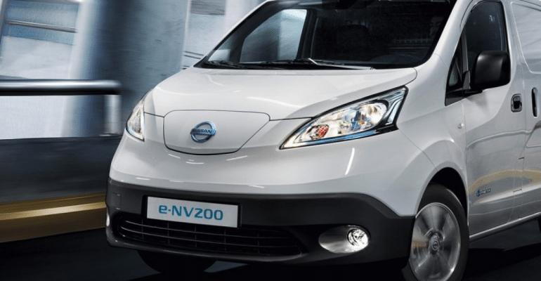 Renault E-NV200 Van Visia